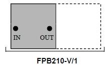 Bandpass Filter 210 VHF cavity